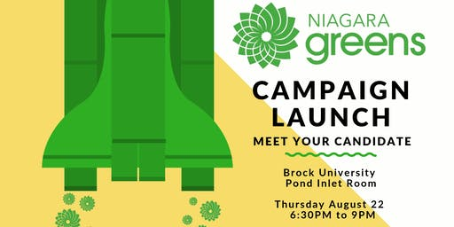 Niagara Greens Federal Campaign Launch