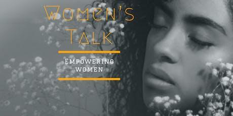 Women's Talk tickets
