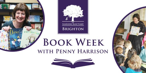 Book Week with children's author Penny Harrison in Brighton
