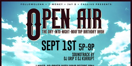 Open Air Rooftop Birthday Bash tickets