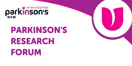 Parkinson's NSW Research Forum  tickets