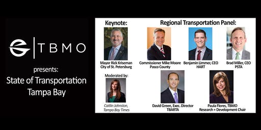 TBMO State of Transportation Tampa Bay