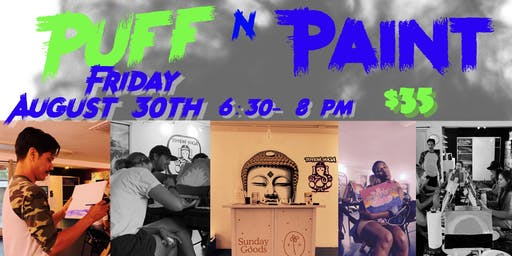 Puff N Paint Party