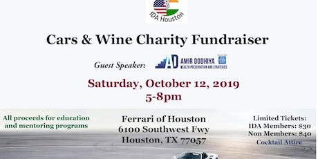 Cars & Wine Charity Fundraiser tickets
