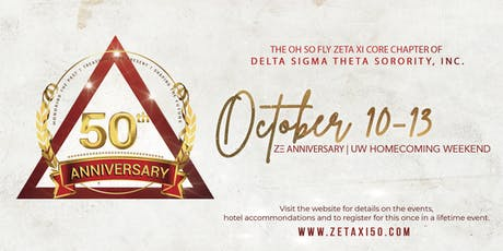 Zeta Xi's 50th Anniversary Weekend tickets