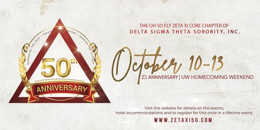 Zeta Xi's 50th Anniversary Weekend