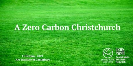 A Zero Carbon Christchurch tickets