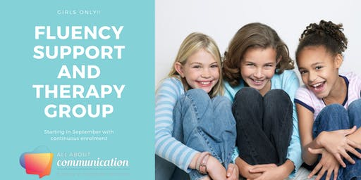 Fluency Support Group and Therapy Group for Girls