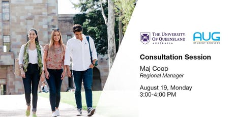 The University of Queensland [FREE Consultation Session] tickets