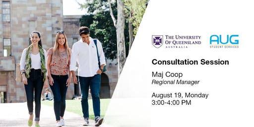The University of Queensland [FREE Consultation Session]