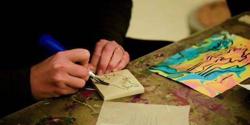 Monoprinting and Handprinting