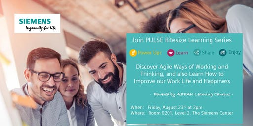 Discover Agile Ways of Working and Thinking, and also Learn How to Improve our Work Life and Happiness