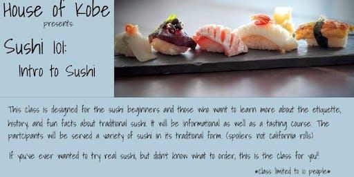 Sushi 101: Beginner Omakase