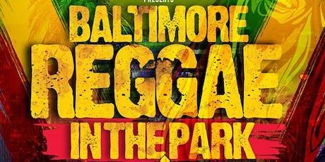 Reggae in the Park tickets