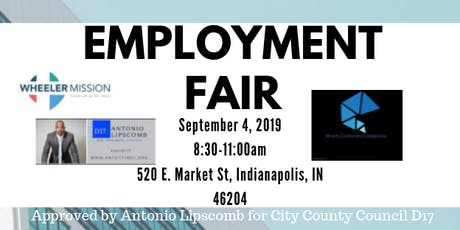 Lipscomb  for City County Council D17 Presents: An Employment Fair tickets