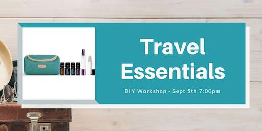 Travel Essentials - DIY Workshop