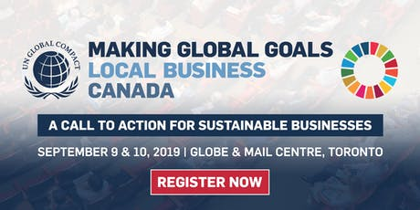 Making Global Goals Local Business Canada Summit tickets