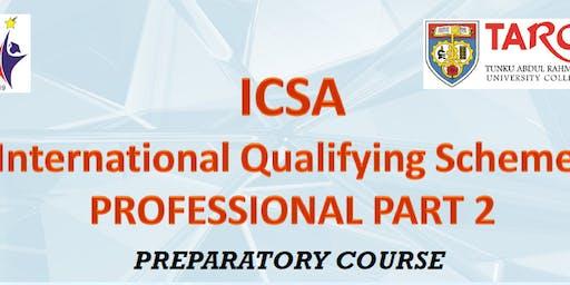 ICSA IQS Part 2 Preparatory Course