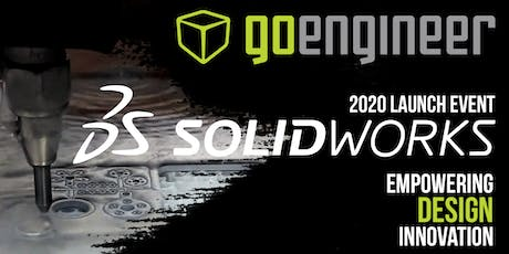 Sandy: SOLIDWORKS 2020 Launch Event Lunch | Empowering Design Innovation tickets