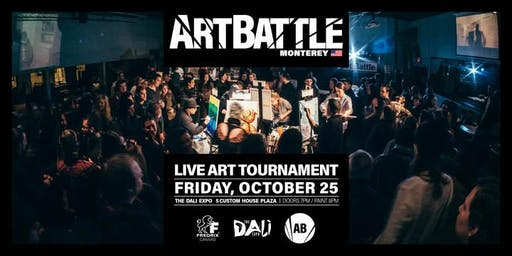 Art Battle Monterey - October 25, 2019