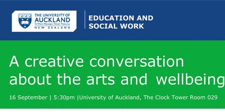 A conversation about the arts and wellbeing tickets