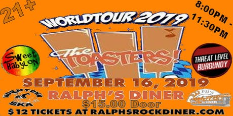 Ralph's Diner and Wormtown Ska Presents: The Toasters & More! tickets