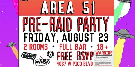 Area 51 Rave tickets