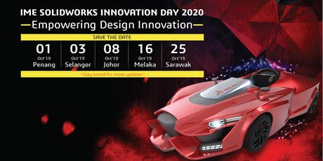 IME SOLIDWORKS Innovation Day 2020 - Penang tickets