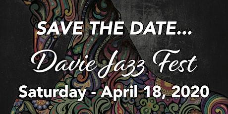 Davie Jazz Festival 2020 tickets
