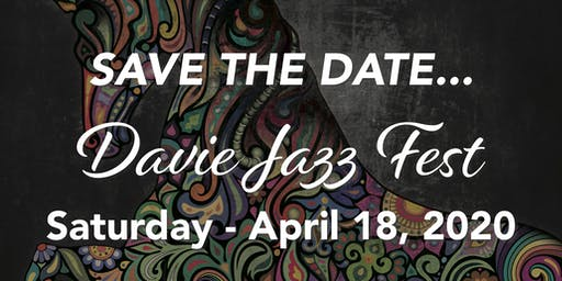 Davie Jazz Festival 2020