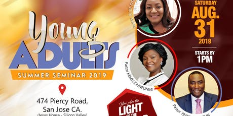 Young Adults Summer Seminar 2019 tickets
