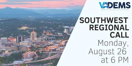 DLOV  Southwest Regional Call tickets