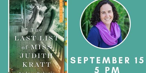 Book Club Discussion with Andrea Bobotis