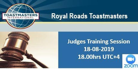 Toastmasters Judging Training Session tickets