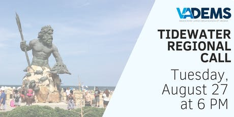 DLOV  Tidewater Regional Call tickets