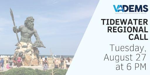 DLOV  Tidewater Regional Call