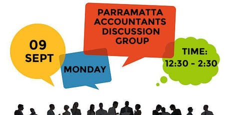 """PARRAMATTA ACCOUNTANTS DISCUSSION GROUP """"PADG"""" tickets"""