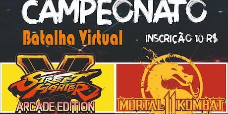 CAMPEONATO BATALHA VIRTUAL 3ª EDIÇÃO - GAMES E MUITO MAIS! ingressos