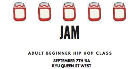 JAM -adult beginner hip hop class tickets