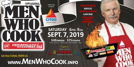 11th Annual MEN WHO COOK for the Will County Children's Advocacy Center tickets