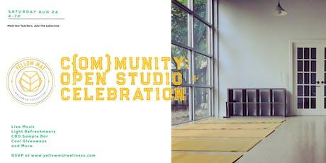 C{OM}MUNITY: An Open House + Celebration at Yellow Mat Wellness tickets