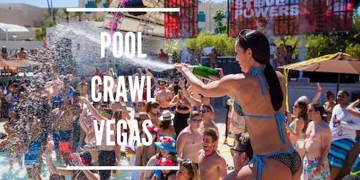 Access Vegas Pool Parties! Vegas Pool Crawl