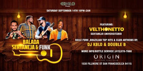BALADA SERTANEJA & FUNK tickets