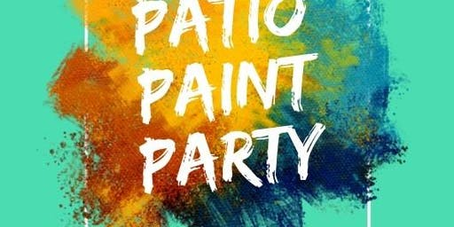 Kids Patio Paint Party