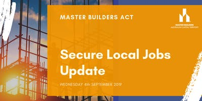 MBA Secure Local Jobs Update