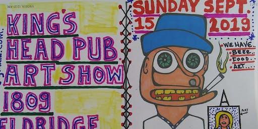 Art Beer Food at Kings Head Pub