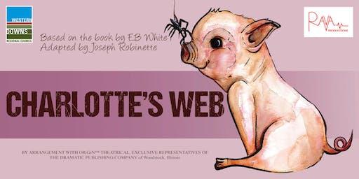 Chinchilla Charlotte's Web