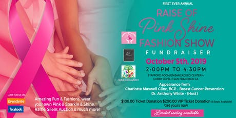 Raise of Pink Shine Fashion Show Fundraiser tickets