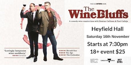 The Wine Bluffs tickets