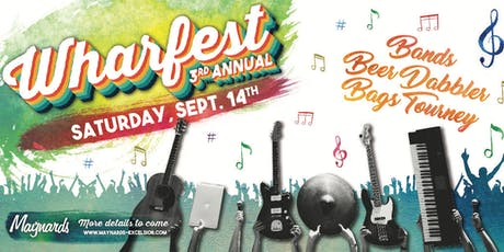 3rd Annual Wharfest tickets